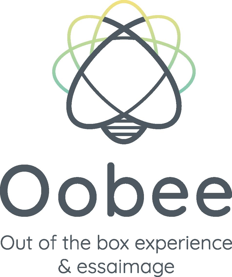 Logo Oobee lieu atypique, espace de travail ludique aux portes d'Innovallée
