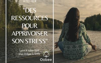 Atelier : «Des ressources pour apprivoiser son stress»