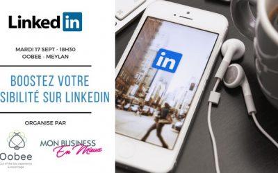 Atelier : Boostez votre visibilité sur Linkedin