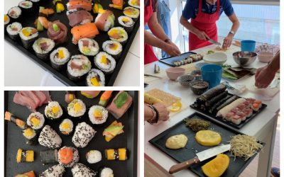 Atelier culinaire chez Oobee ! Les sushis
